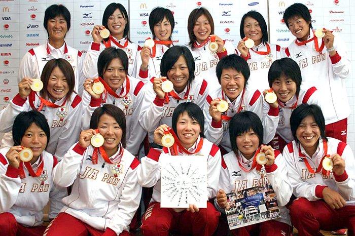 「北京オリンピック 女子ソフトボール」の画像検索結果