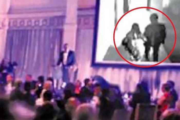 不倫動画を結婚式場で公開
