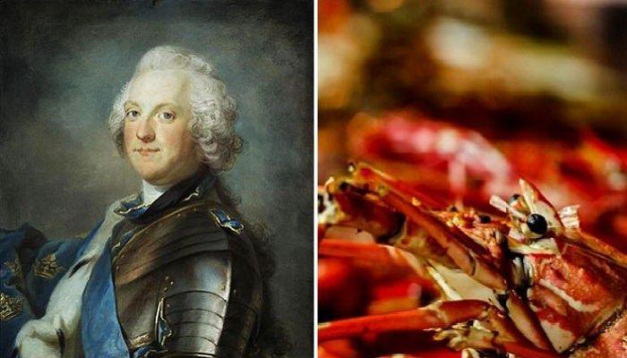 過食で死亡したスウェーデンの王様
