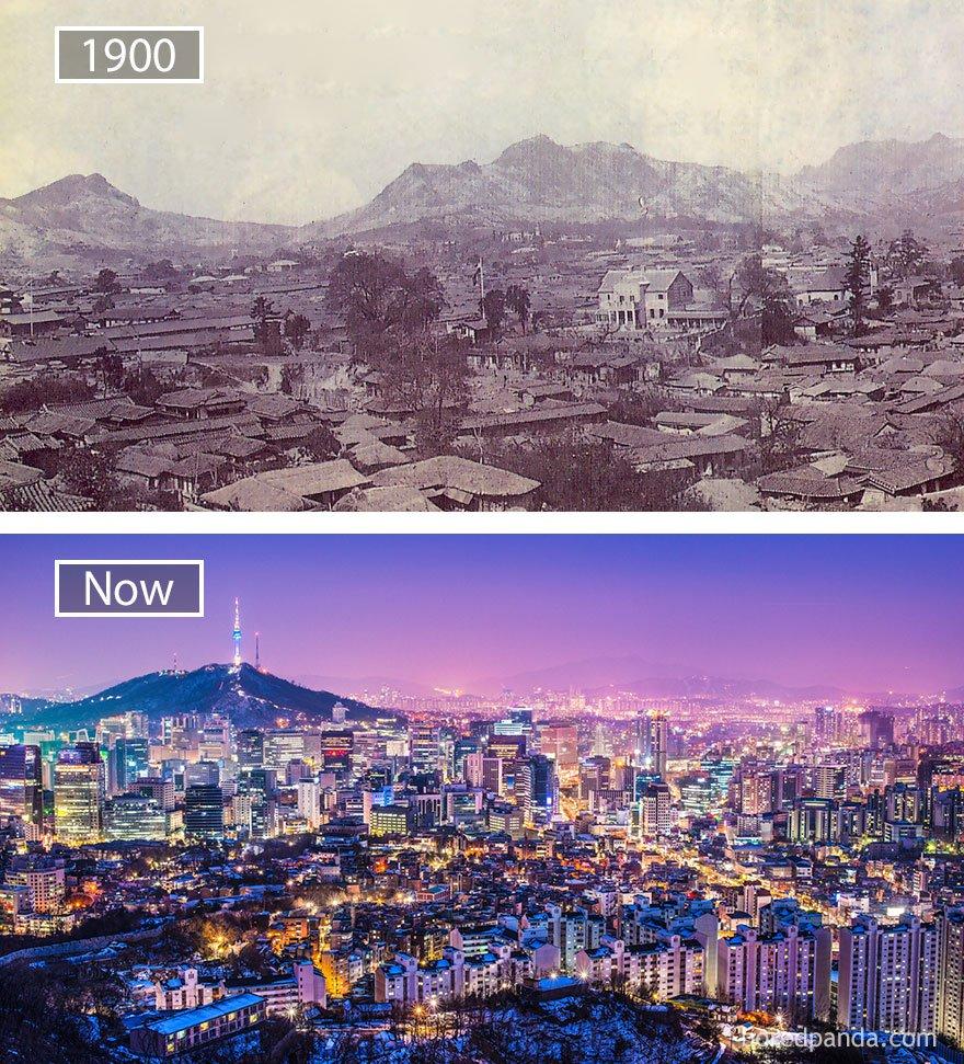 서울, 대한민국 - 1900 그리고 지금