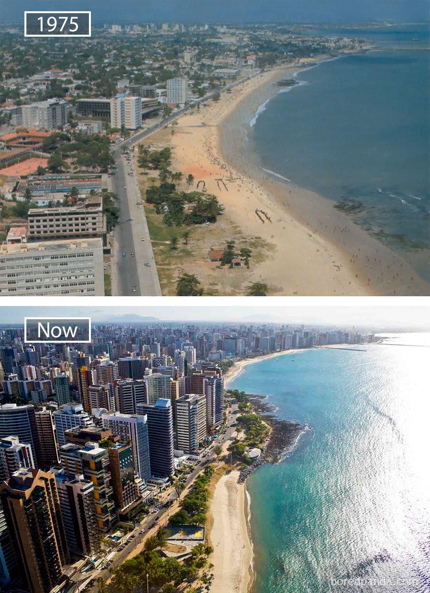 포르 탈 레자, 브라질 -1975 그리고 지금