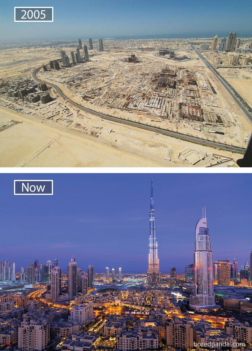 두바이, 아랍 에미리트 - 2005 그리고 지금