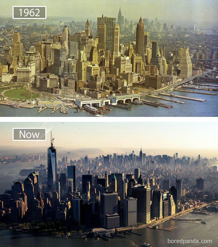 New York, Usa - 1962 그리고 지금