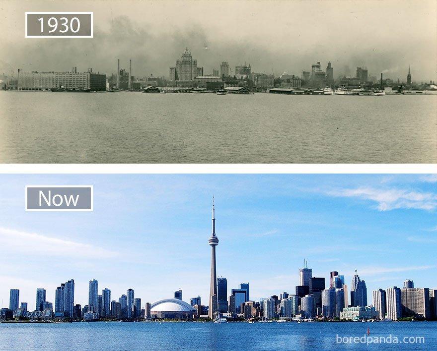 토론토, 캐나다 -1930 그리고 지금
