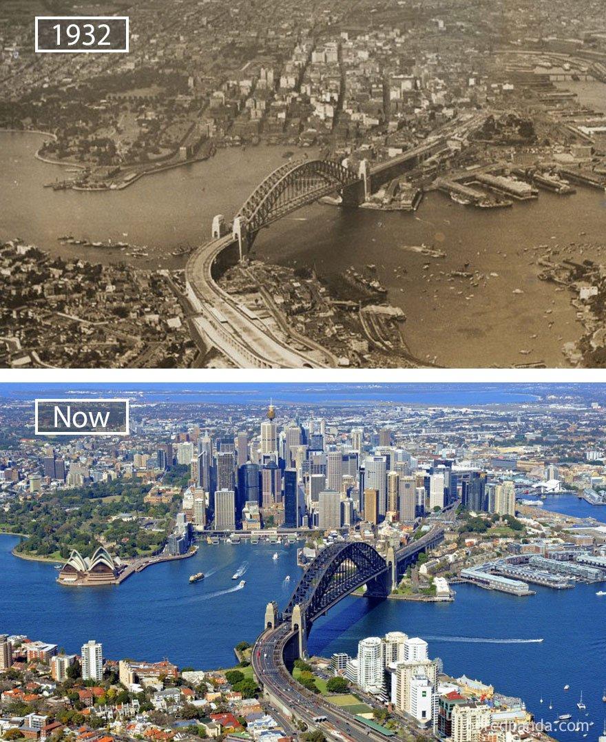 시드니, 호주 -1932 그리고 지금