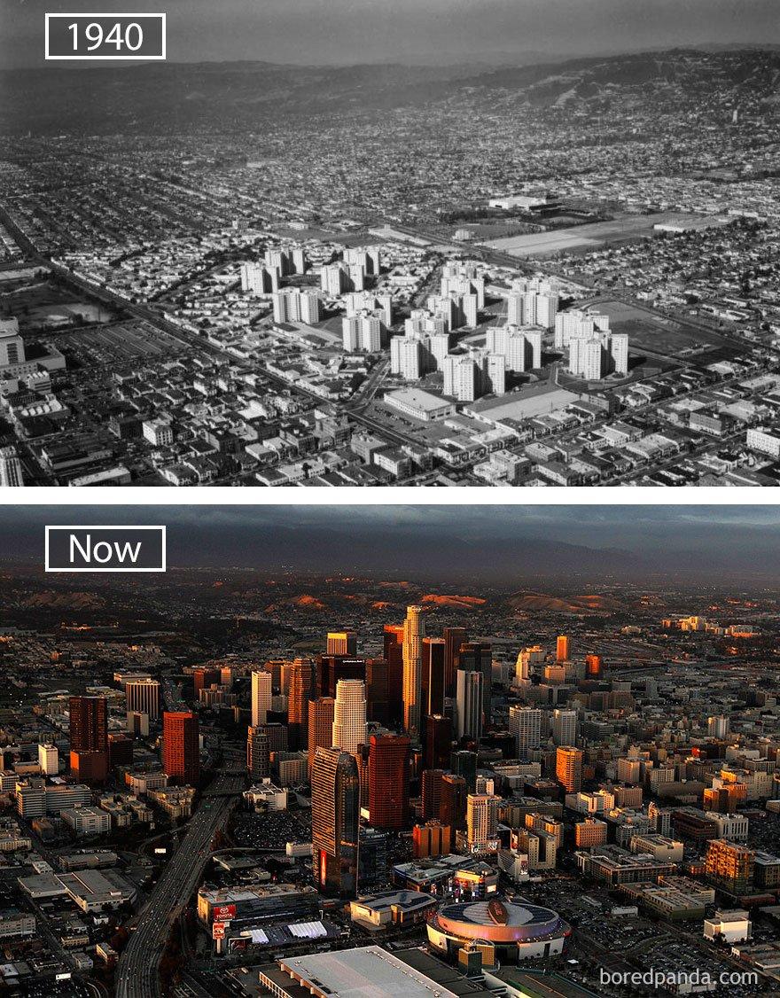 로스 앤젤레스, 우사 -1940 그리고 지금