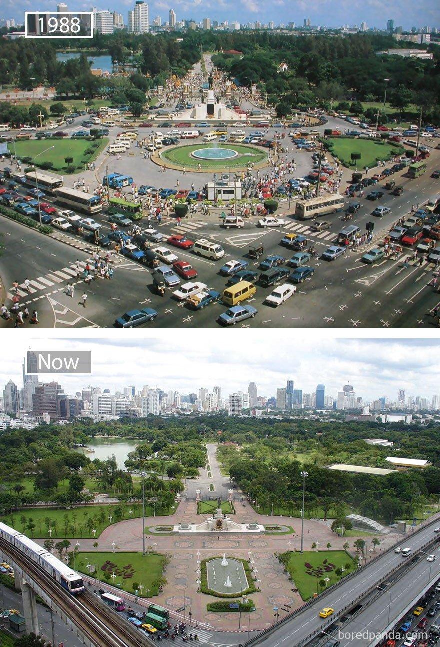 방콕, 태국 - 1988 그리고 지금