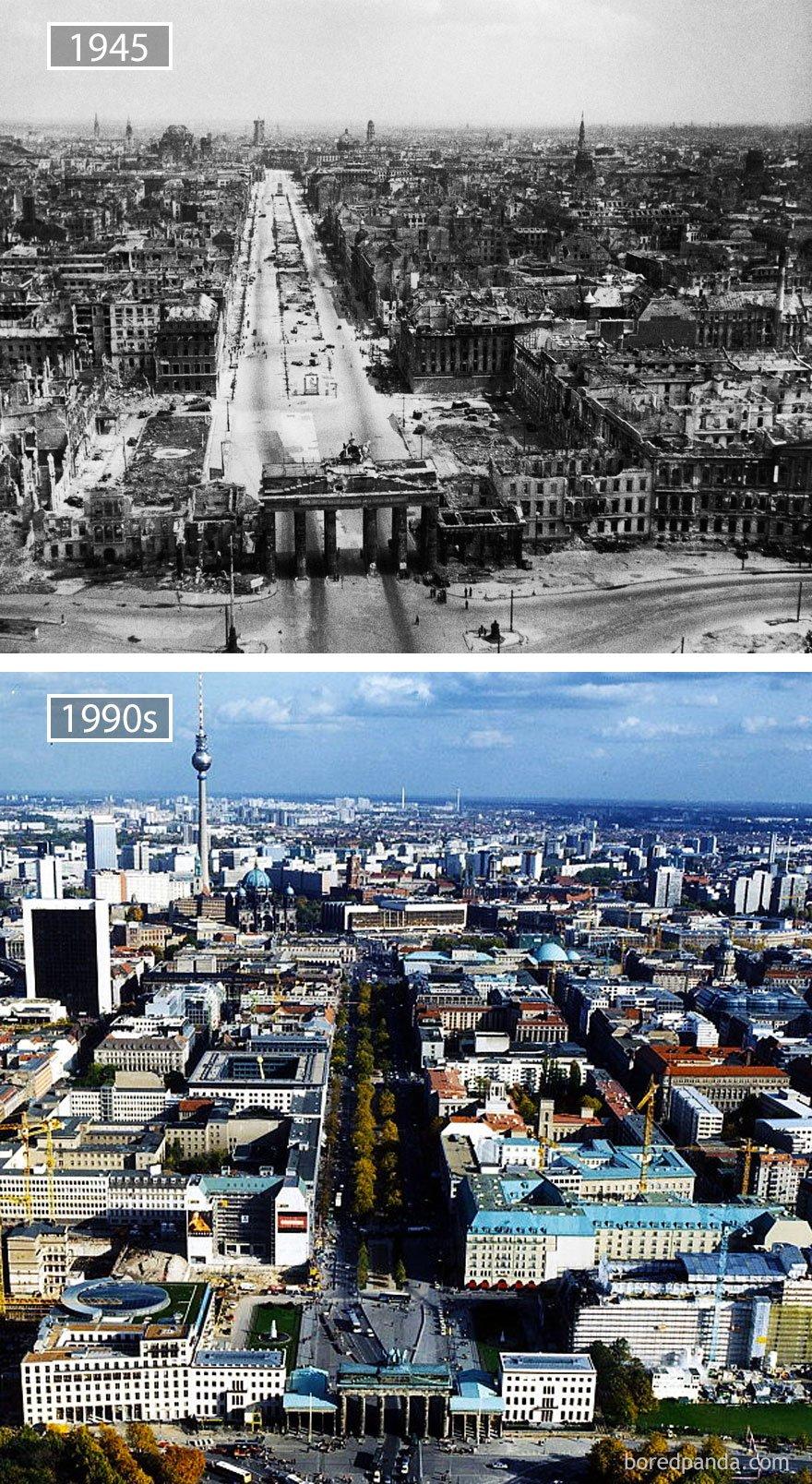 베를린, 독일 -1945 및 1990 년대