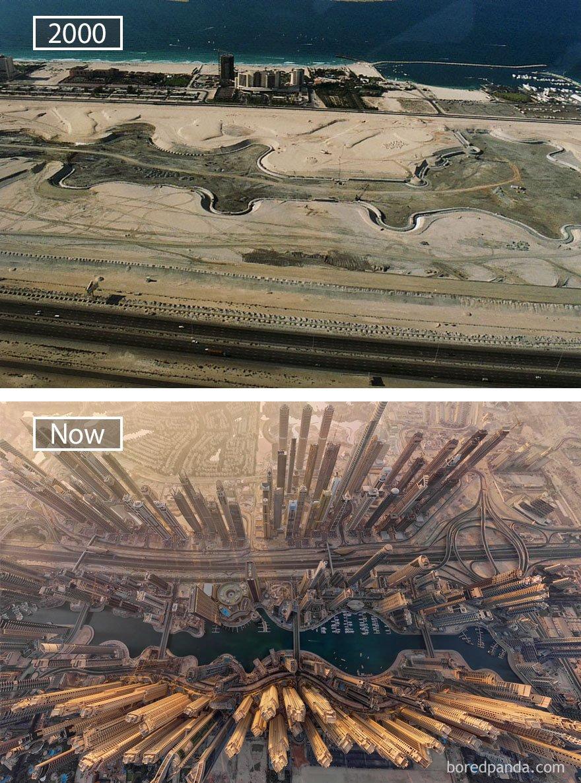 두바이, 아랍 에미레이트 - 2000 그리고 지금