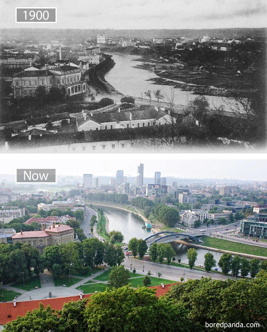 빌 뉴스, 리투아니아 -1900 그리고 지금