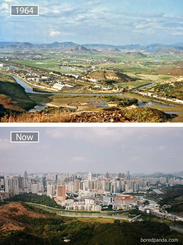 Shenzen, China - 1964 그리고 지금