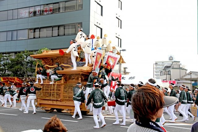 「清原和博 岸城神社 だんじり祭」の画像検索結果