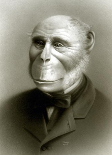 人間とチンパンジーを交配させようとした異常な科学者