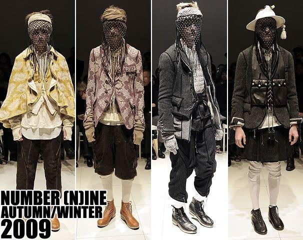 Number Nine 服에 대한 이미지 검색결과