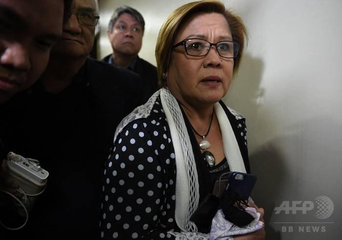 レイラ・デリマ上院議員 に対する画像結果