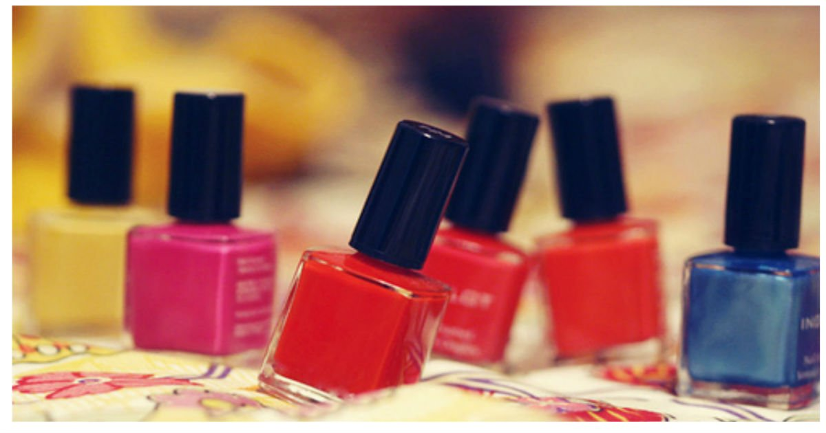 nail polish diy.jpg?resize=1200,630 - Next Time You're About To Throw Away Out-Of-Style Nail Polishes, Do THIS Instead!