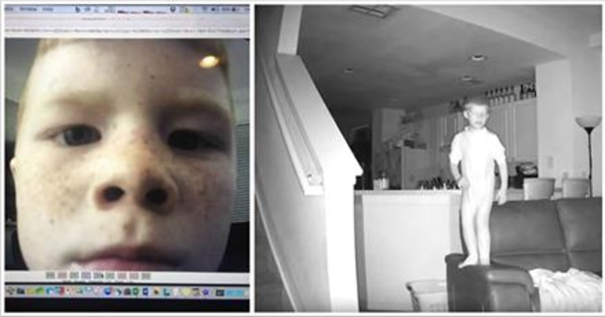 Screen Shot 2016 11 10 at 8.48.27 PM.png?resize=1200,630 - His House Was Always A Mess In The Morning So He Installed A Camera And Caught His Child On Tape