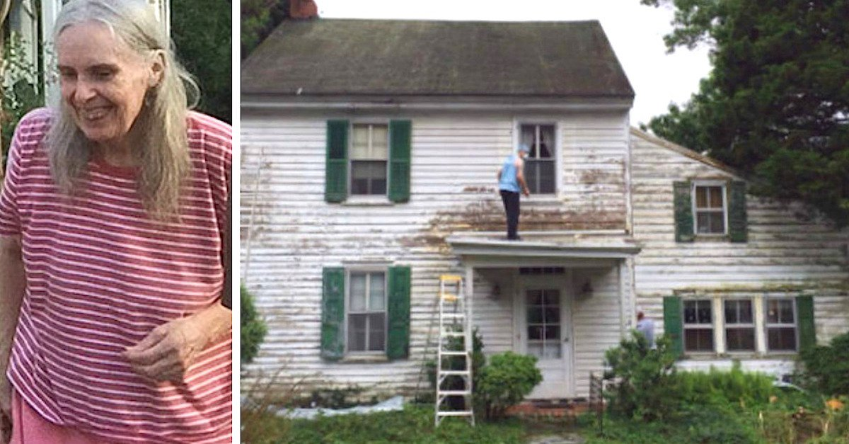 anne1.jpg?resize=1200,630 - Young Couple Secretly Fixes Lonely Neighbor's House For A Reason You Wouldn't Believe