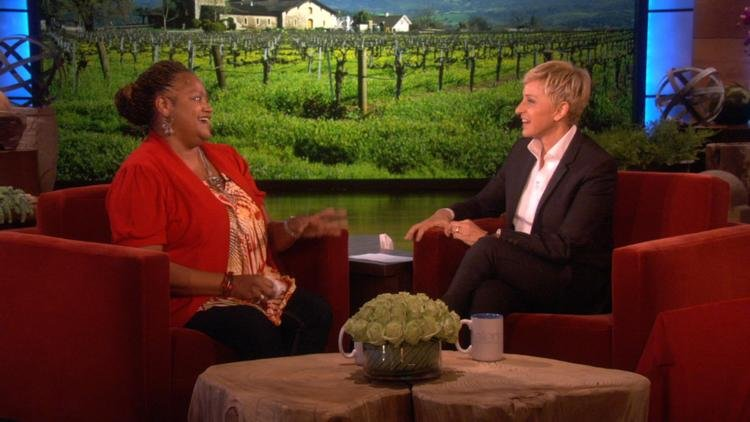 image via: The Ellen DeGeneres Show