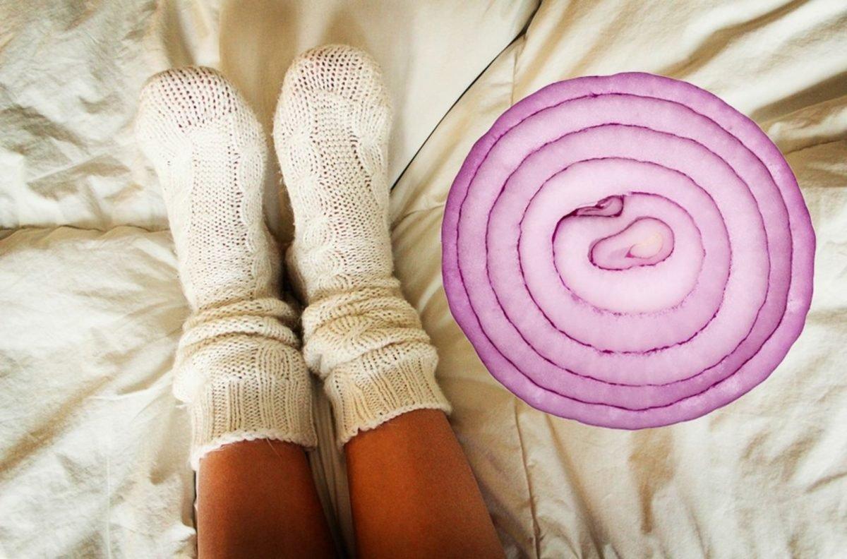 socks onions e1485190430644.jpg?resize=1200,630 - Dormir com cebolas dentro das meias? Veja o porquê!