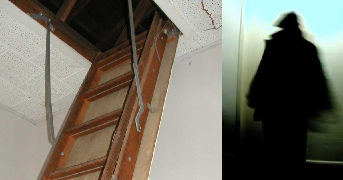 stranger in attic.jpg?resize=1200,630 - Mother Discovered Stranger Living In Her Attic After Hearing Strange Noises At Night