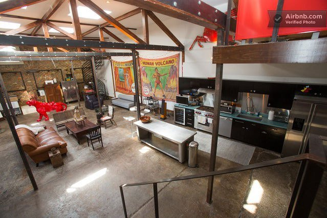 1918 gas station converted into home new orleans rob guthrie 11.jpg?resize=1200,630 - Father And Son Live A Gas Station That Has Been Converted Into A Luxury Home