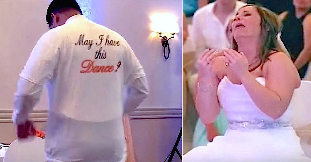 PicMonkey Collage15.jpg?resize=412,232 - Groom Wore Shirt With The Picture Of Bride's Late Father On It To Give Her The Father-Daughter Dance She Always Wanted