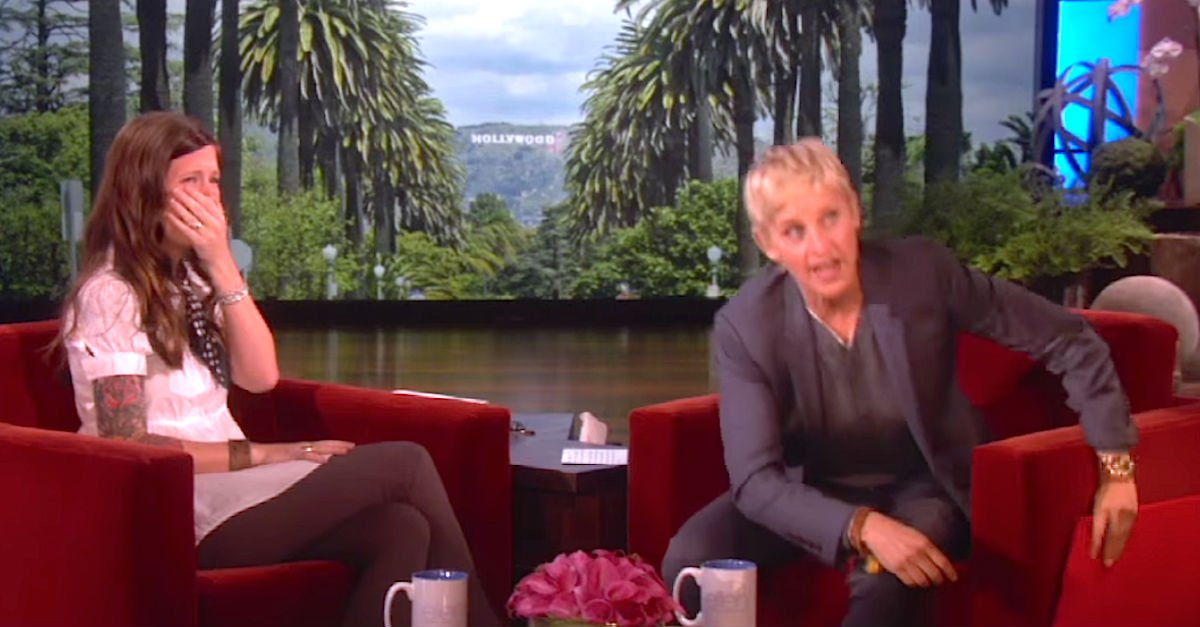 Screen Shot 2016 01 11 at 10.jpg?resize=1200,630 - Ellen DeGeneres Treated Deaf Mother To Expensive Hearing Aid So That She Could Hear Her Daughter