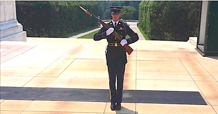 Screen Shot 2016 09 18 at 9.jpg?resize=412,232 - Soldier Yelled At Disrespectful Crowd Who Were Laughing During Military Memorial