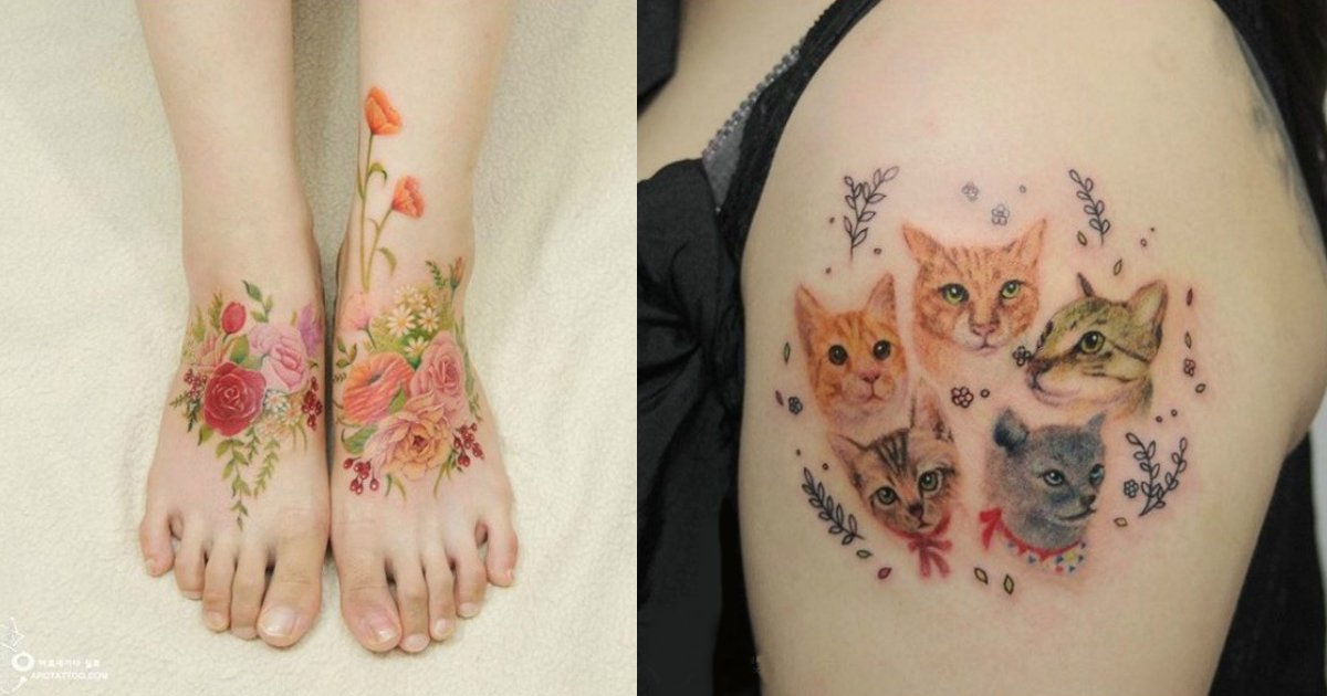 beautiful watercolor paintings.jpg?resize=1200,630 - Artist Enhances The Beauty Of Women With Tattoos That Mimic Watercolor Paintings On Skin