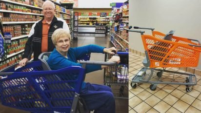 carolines cart for seniors 412x232.jpg?resize=412,232 - Frustrated Mom Invented Shopping Cart That Helps Seniors And Children With Special Needs