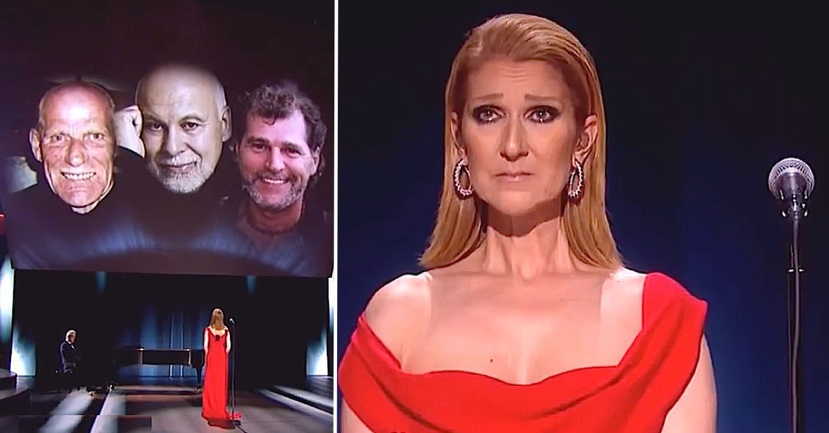 celine2 1.jpg?resize=412,232 - Céline Dion Delivered Emotional Performance Dedicated To Her Late Husband Lost To Cancer