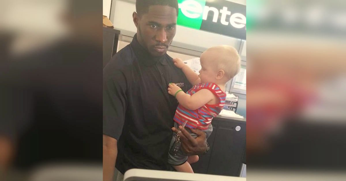 enterpriseA.jpg?resize=1200,630 - A Car Rental Employee Holds Her Baby And Mom Is Touched