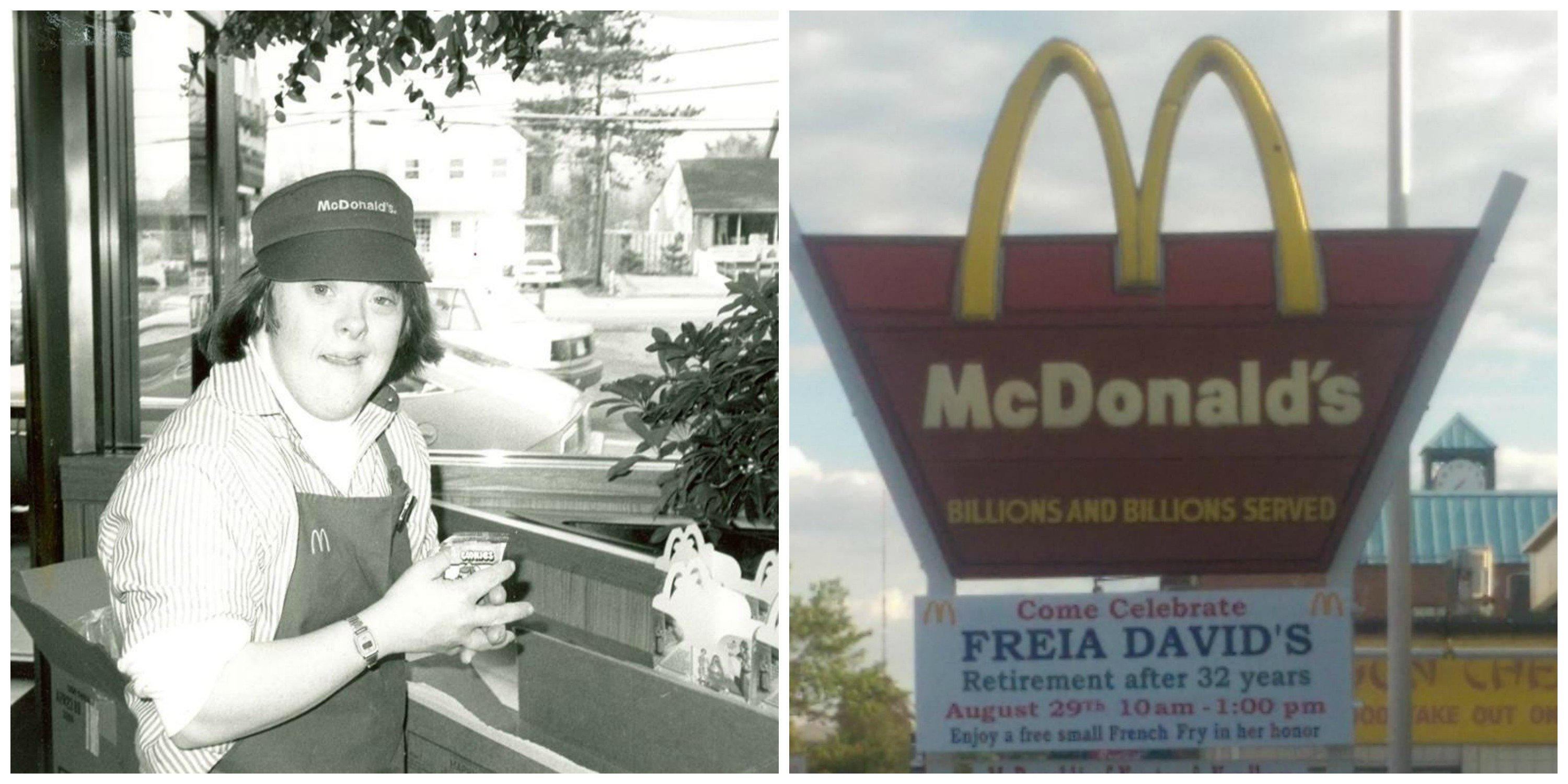 freia thumb.jpg?resize=412,232 - After 32 Years, A Devoted McDonald's Employee Received A Beautiful Send-Off