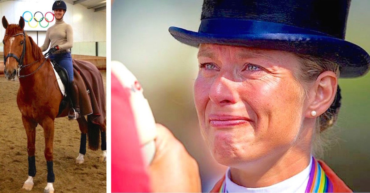 horse.jpg?resize=300,169 - Gold Medal Athlete Quit Olympic Games Competition To Protect Her Sick Horse