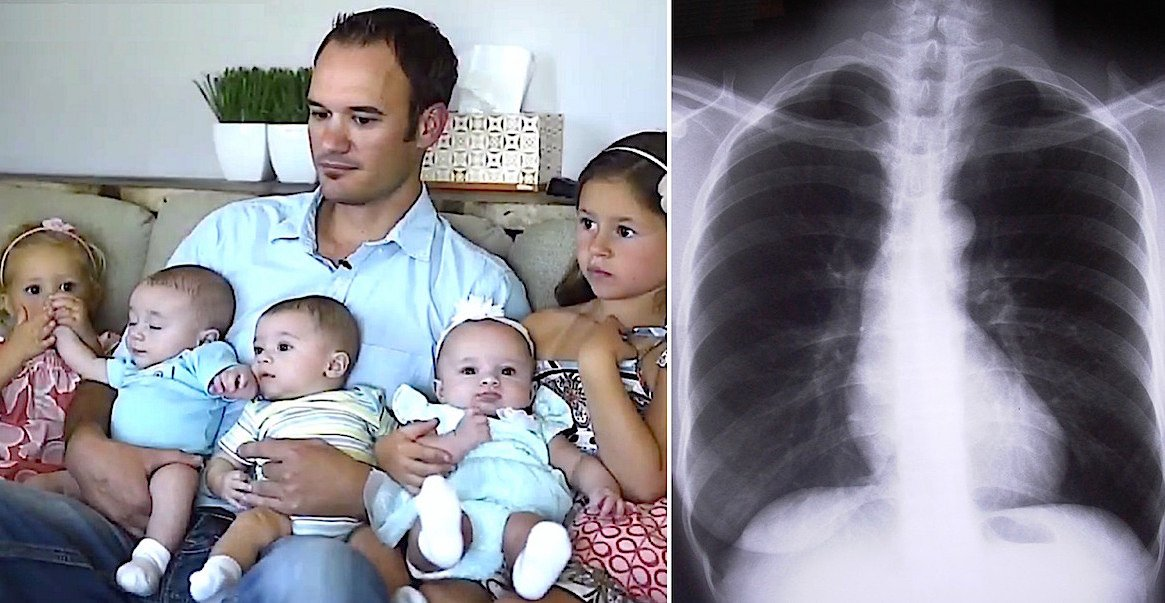 r2.jpg?resize=1200,630 - Mother of 5 Unexpectedly Dies and Husband Brings Home Triplets
