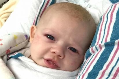 vonvon rsv baby min 1 412x275.jpg?resize=412,275 - Dad Warned Other Parents Of RSV, A Deadly Disease That Can Easily Be Mistaken As Common Cold In Babies