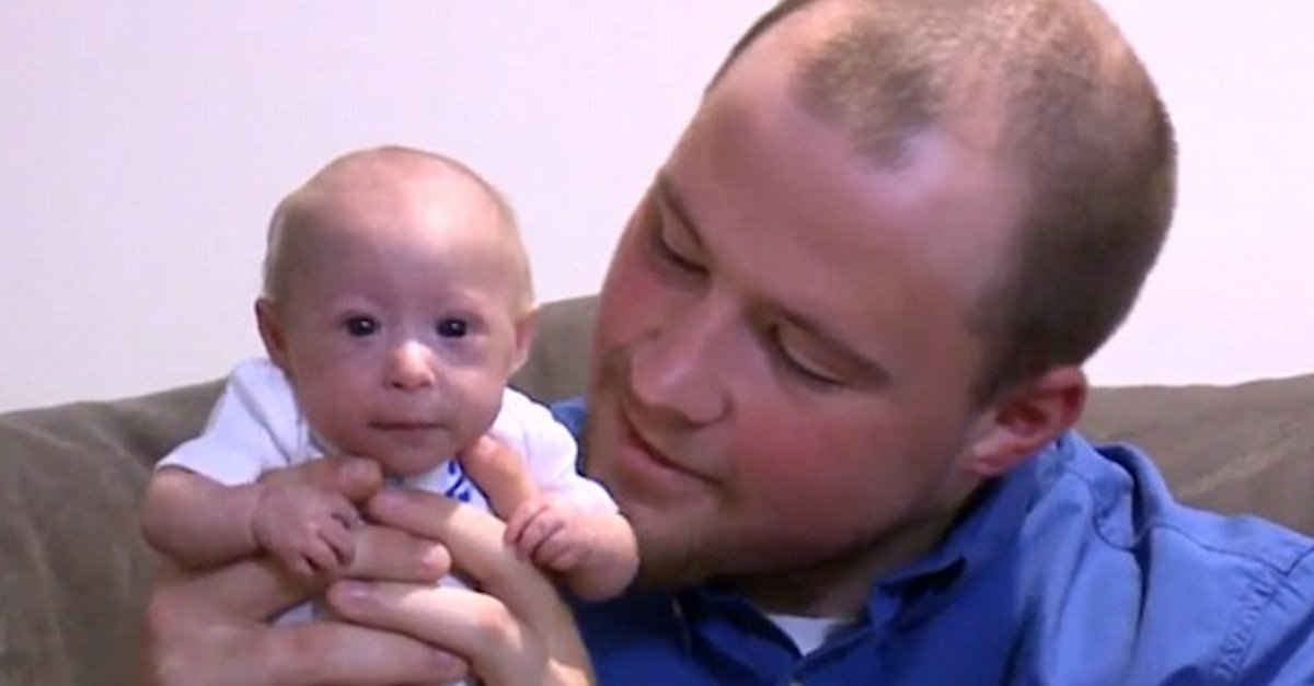 3 Pound Baby A.jpg?resize=1200,630 - This Adorable Baby Looks Like A Newborn But He Actually Has A Rare Condition