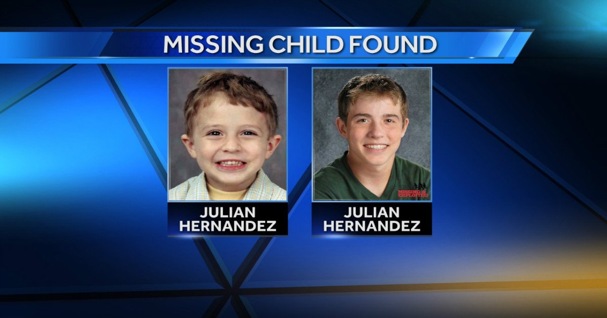 36262336 missing child side by side 0030 jpg.jpg?resize=648,365 - Teen discovers he's been a missing person for 13 years!