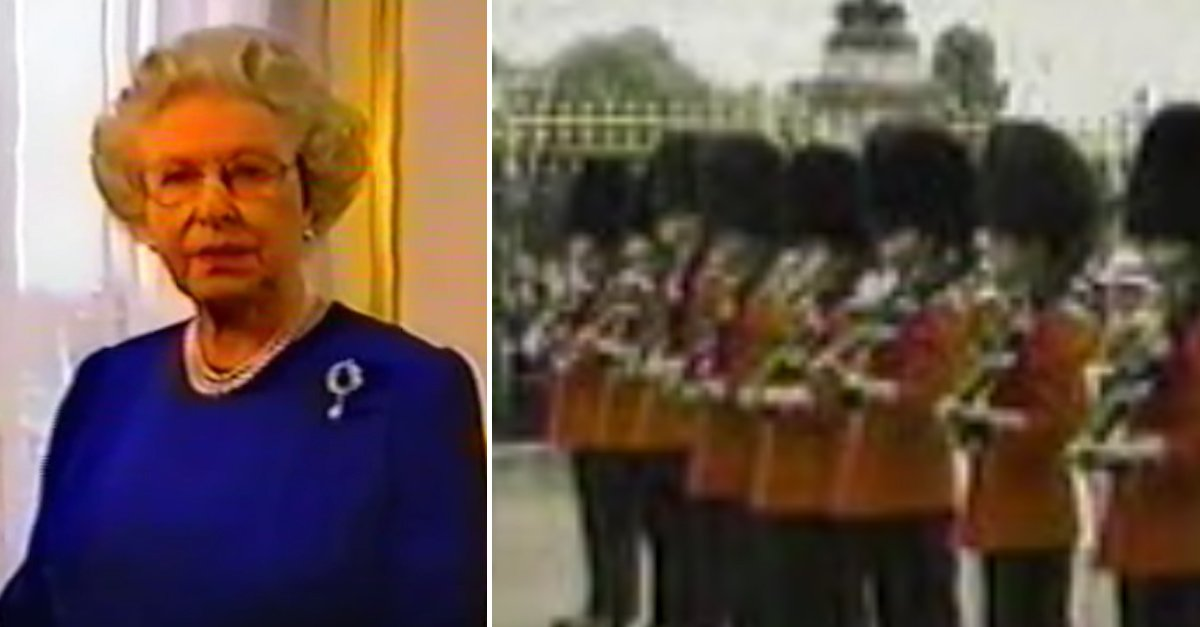 Guards 911 A - 15 Years Ago, The Queen Of England Broke Protocol To Support Americans After 9/11