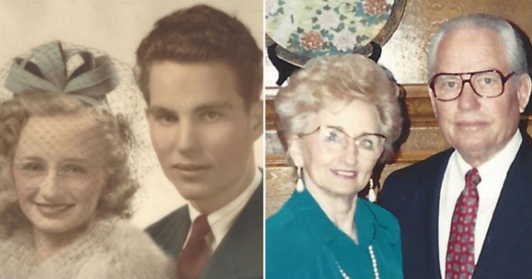 bbsse - After 74 Years Of Marriage She Passes Just Hours After Him So They Can Reunite In Heaven
