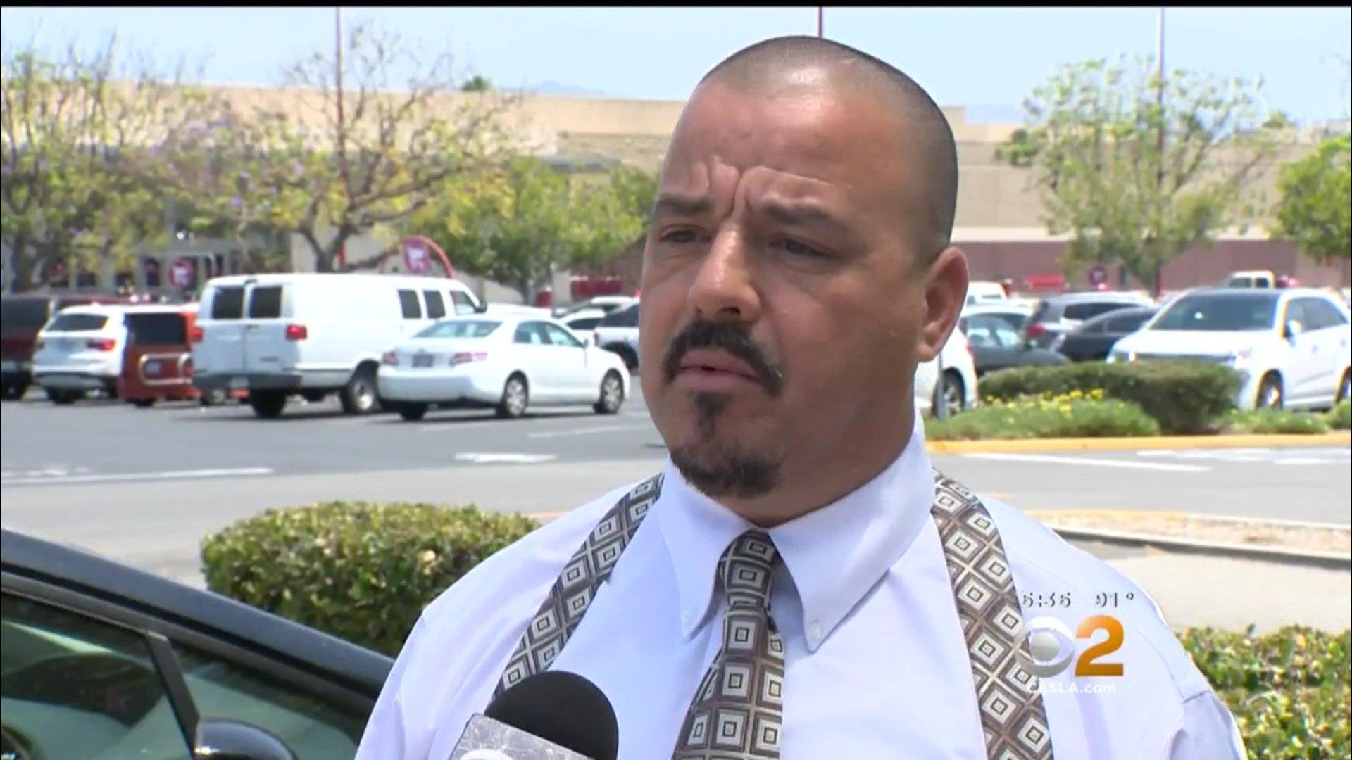 Our hero, Jay Lopez. Image via CBS Los Angeles.