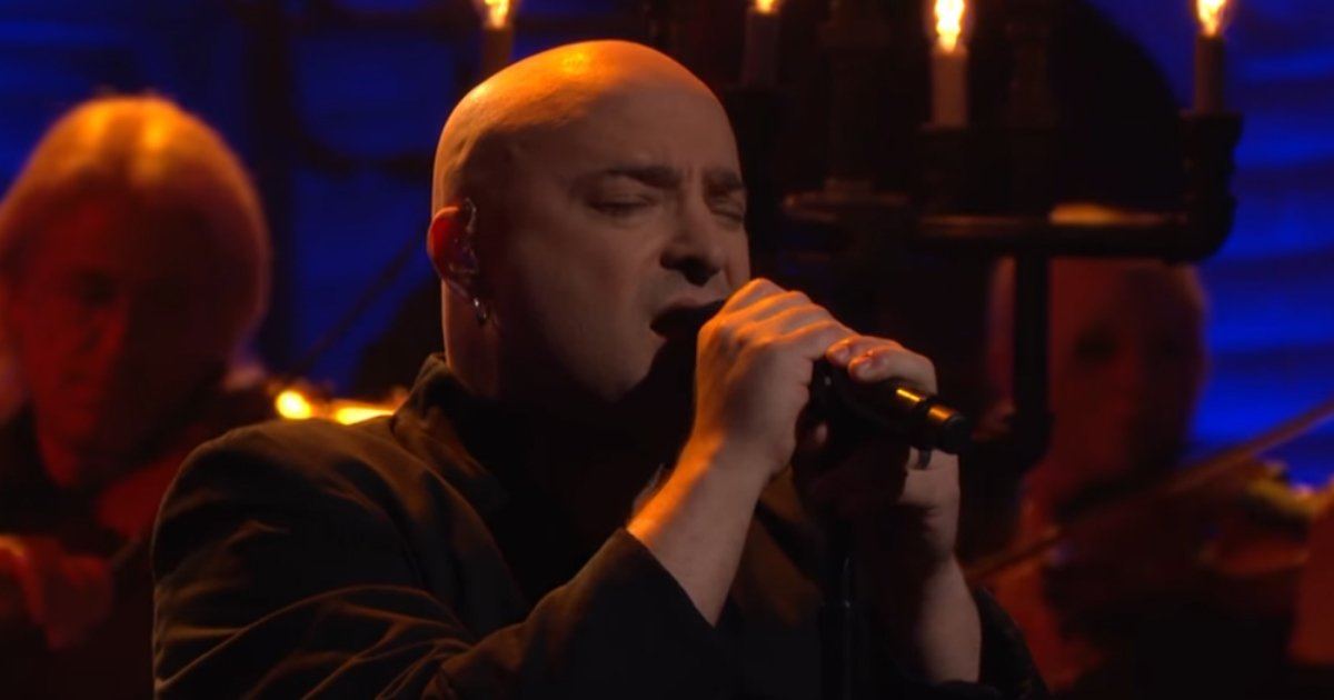 disturbed covers simon and garfunkel.jpg?resize=1200,630 - 'Disturbed,' The Heavy Metal Band, Covers 'The Sound Of Silence' Of 'Simon & Garfunkel' On 'Conan'