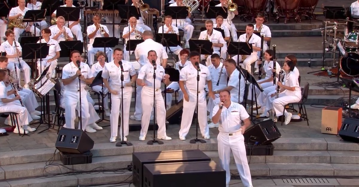 download 5.png?resize=412,232 - The U.S. Navy Band Performed Classic 'Jersey Boys!' Songs