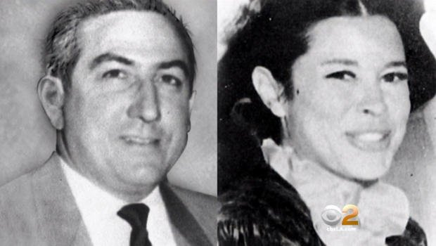 "Leno and Rosemary La Bianca. Victims of Leslie Van Houten and Charles ""Tex"" Watson. Image via CBS News."
