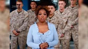 oprah invites marines 300x169.jpg?resize=300,169 - Oprah Winfrey Show: Soldiers' Families Reunited