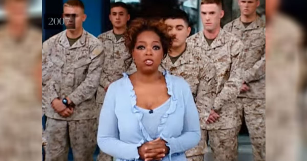 oprah invites marines.jpg?resize=648,365 - Oprah Winfrey Show: Soldiers' Families Reunited