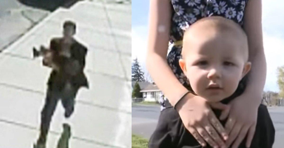 sibling superheroes.jpg?resize=1200,630 - Man Tried To Take Away Toddler Boy But His Siblings Saved Him