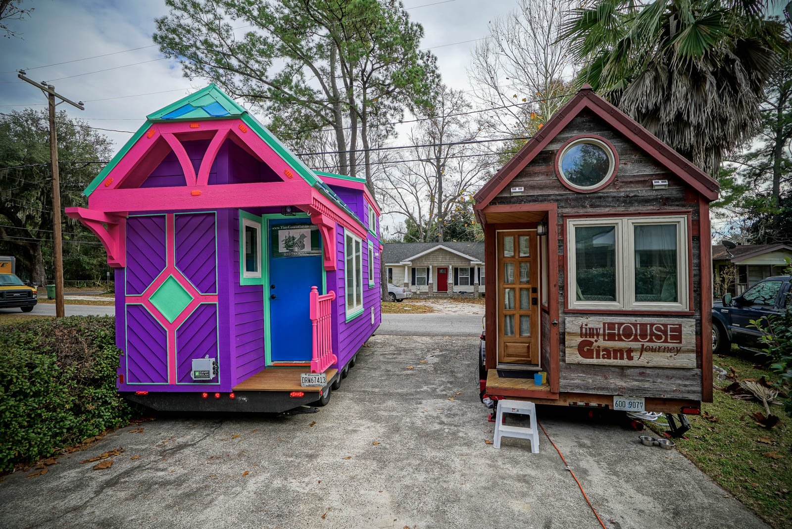 thgj and the ravenlore.jpg?resize=412,232 - Firefighters Designed Tiny, Colorful House That Looks Like It's From A Fairytale