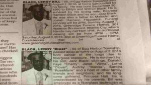 two obituaries leroy blast bill 300x169.jpg?resize=300,169 - When His Family Checked The Newspaper They Found TWO Obituaries For Him!